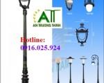 Trụ Đèn Chiếu Sáng Sân Vườn Tại Hà Tĩnh